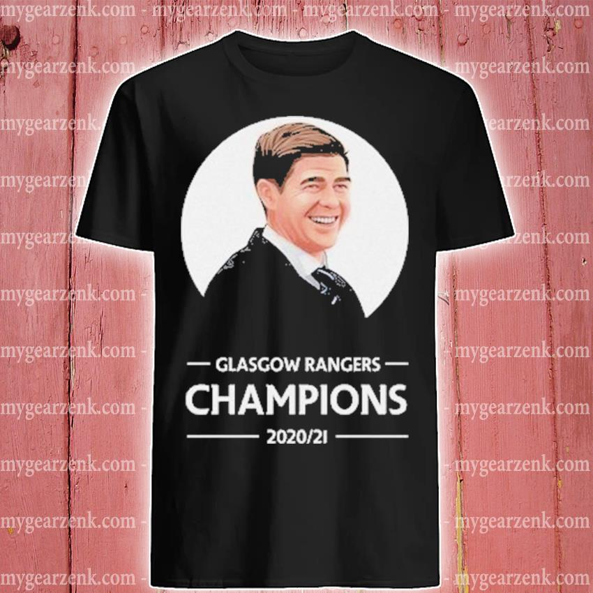 Glasgow rangers Champions 2020 21 shirt