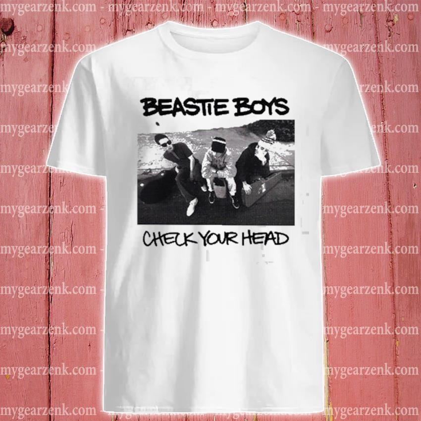 Beastie Boys check your head shirt