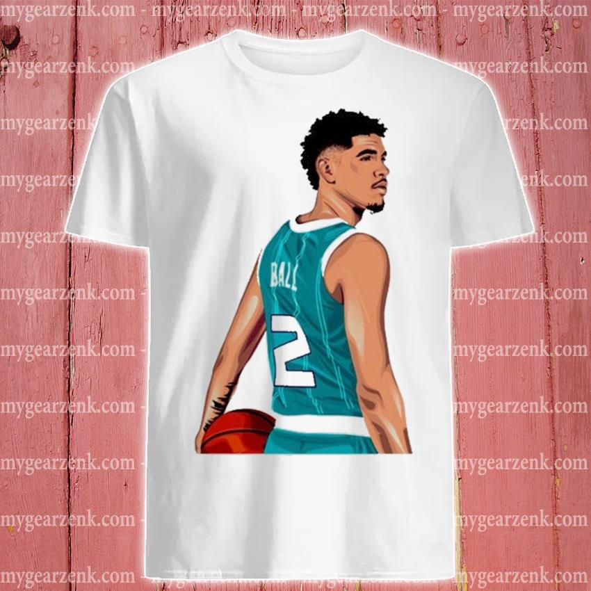 Lamelo ball fan art shirt