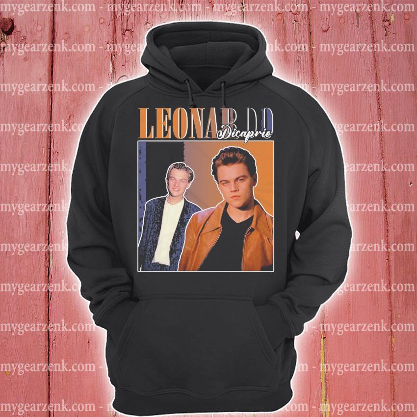 Leonardo dicaprio hoodie