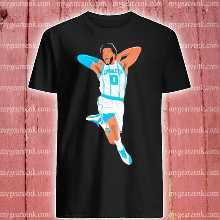 Miles Bridges playing Basketball shirt