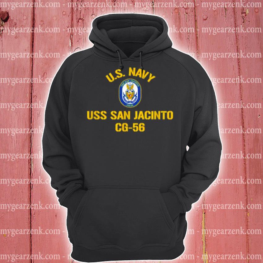 Us navy uss san jacinto cg 56 hoodie