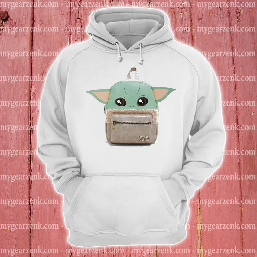 Backpacks Baby Yoda cute hoodie