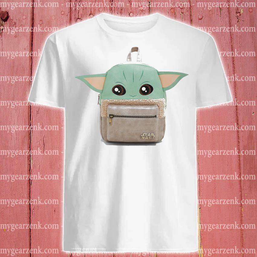 Backpacks Baby Yoda cute shirt