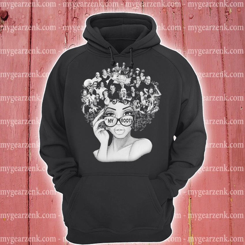 Black Girl my roots hoodie