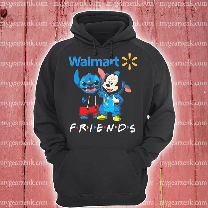 Mickey Mouse and Stitch peace Walmart friends hoodie