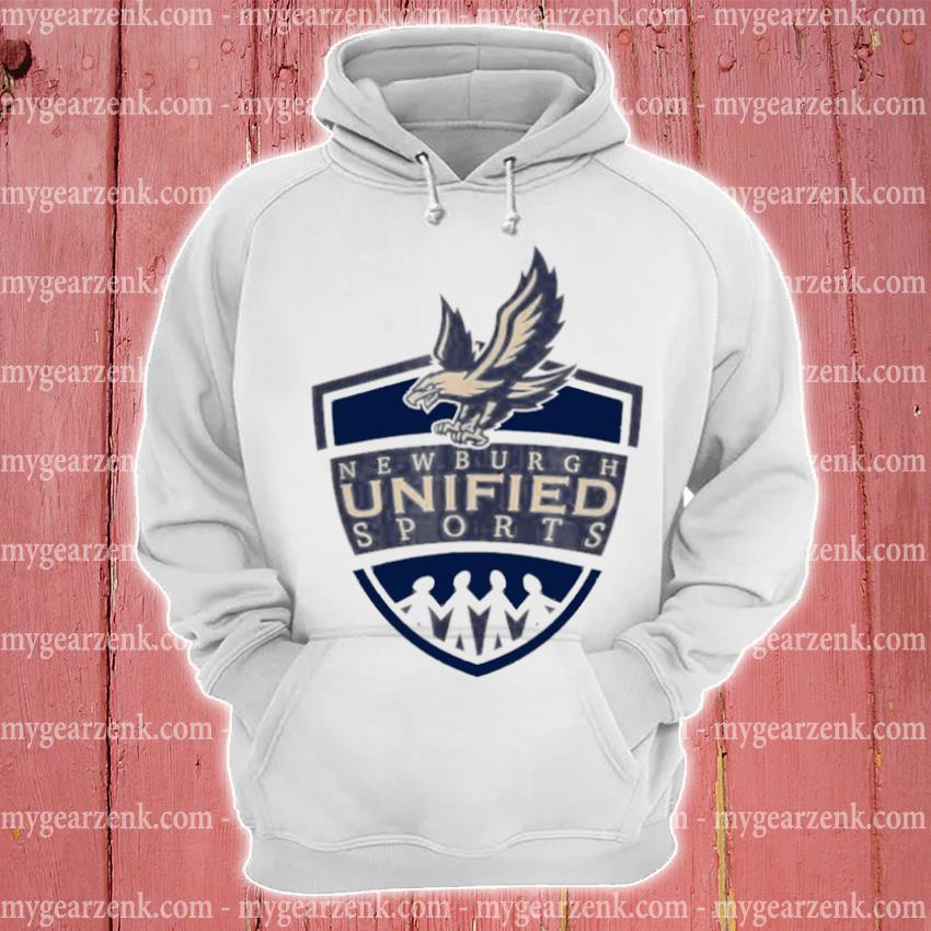 Newburgh unified sports logo hoodie