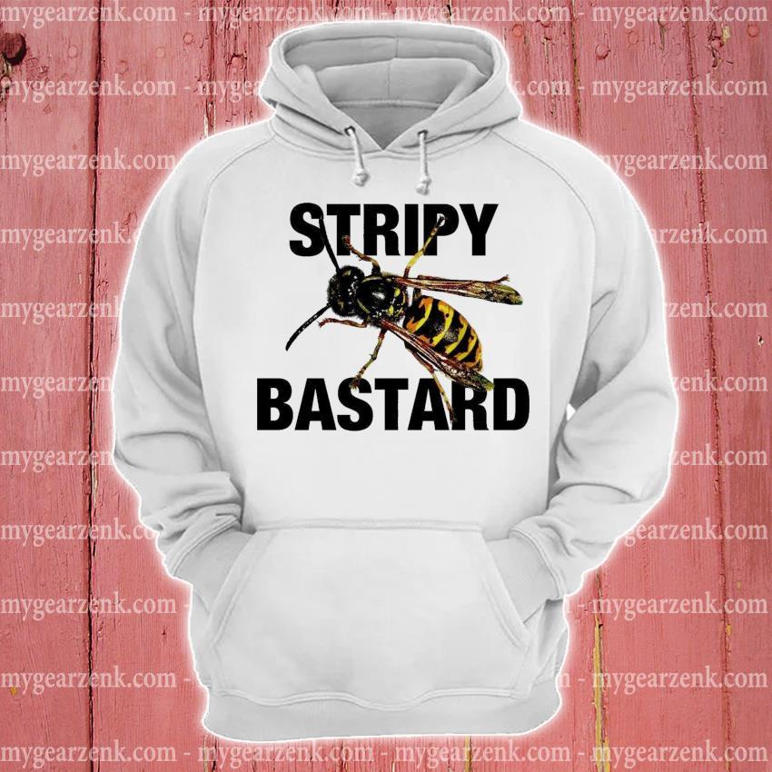 Stripy Bastard hoodie