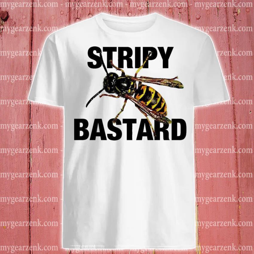 Stripy Bastard shirt