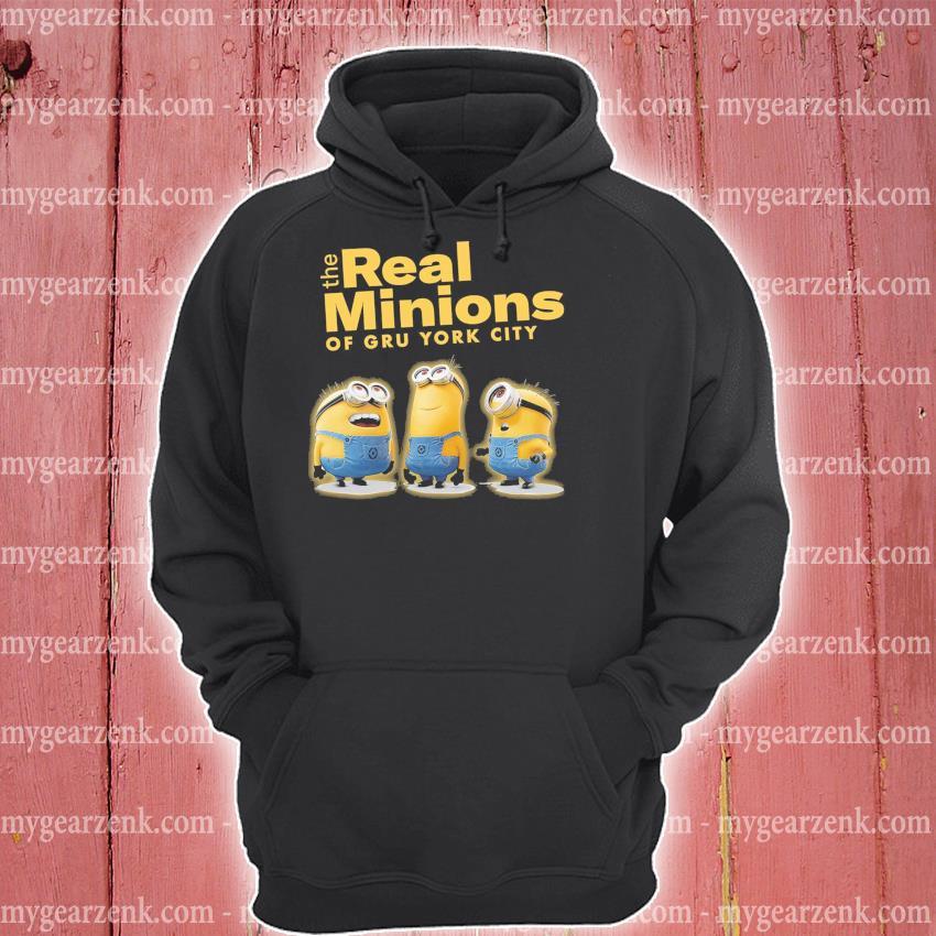 The Real Minions of gru york City 2021 hoodie