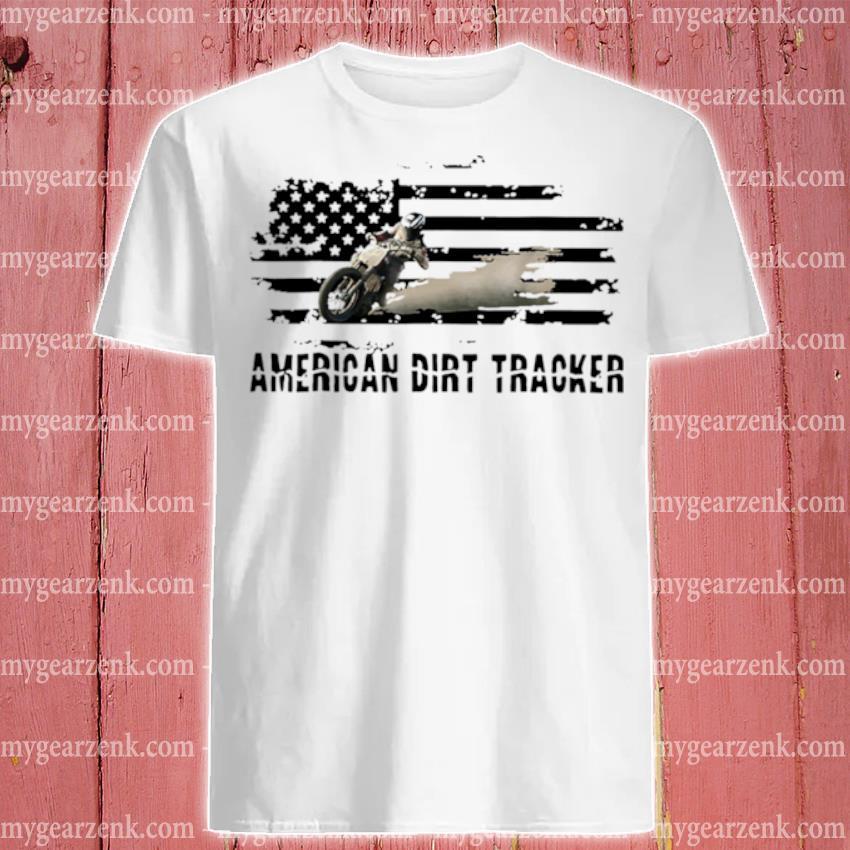 Official dirt track racing american shirt