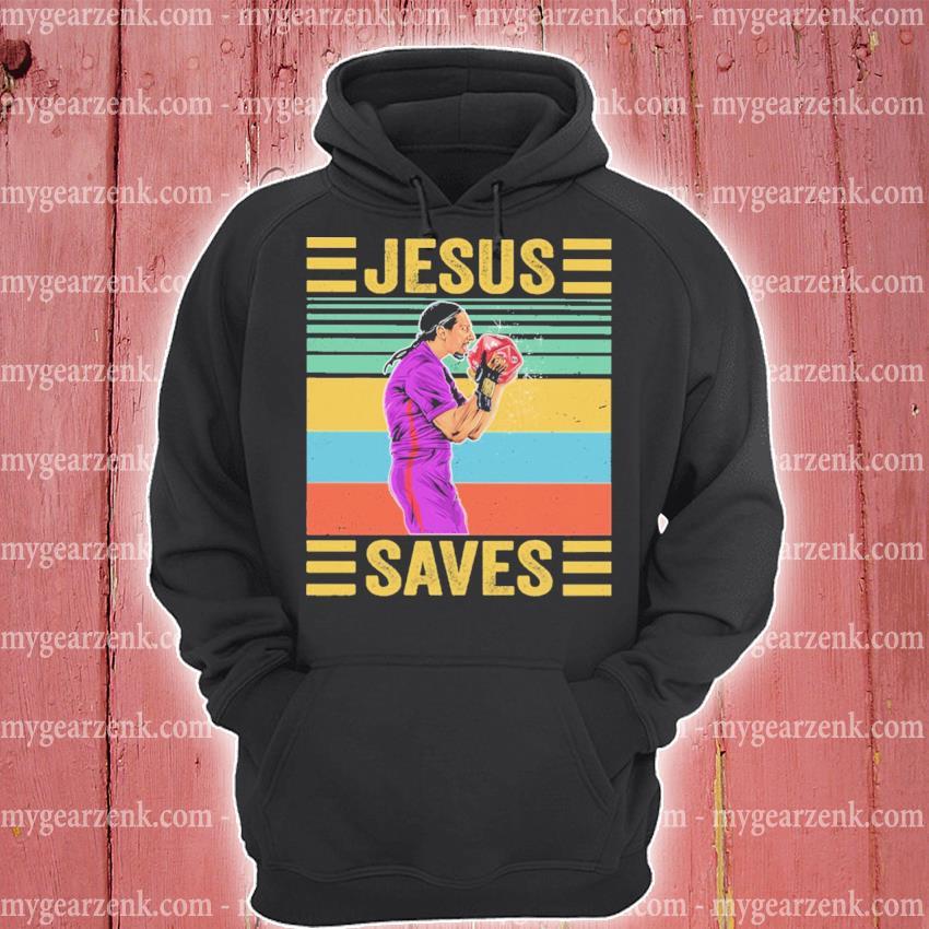 Official jesus save vintage jitsu s hoodie