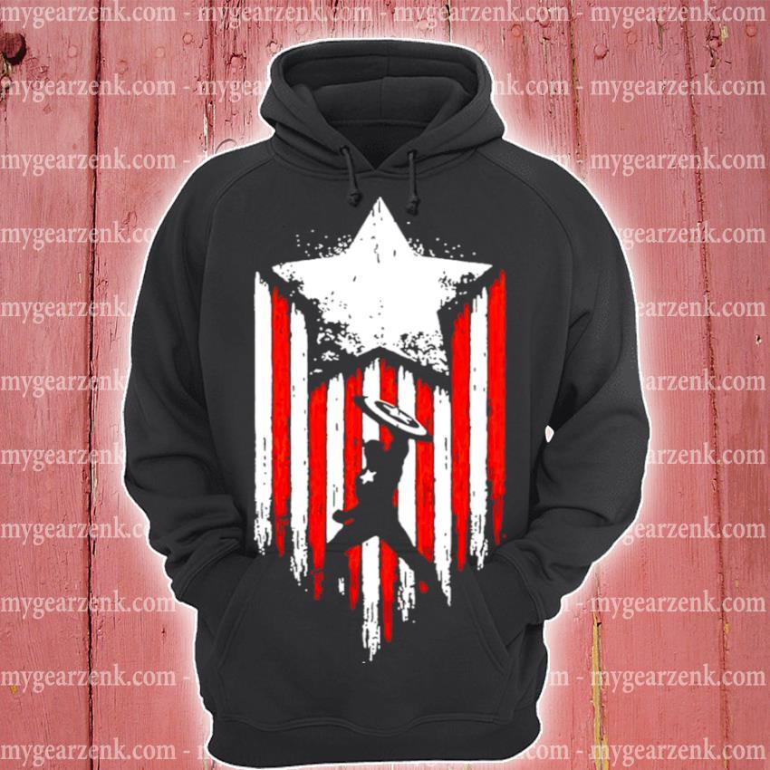 Official marvel avengers captain america s hoodie