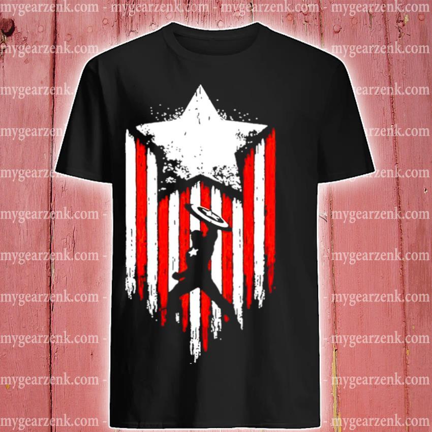 Official marvel avengers captain america shirt