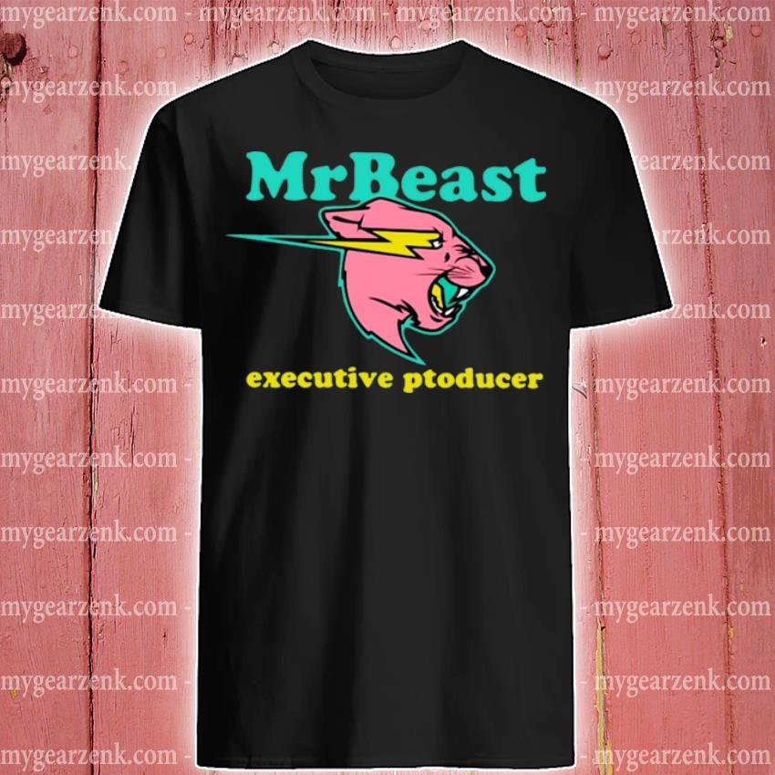 Official mrbeast executive producer shirt