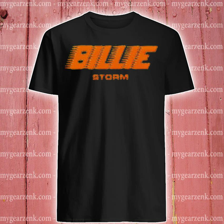 Official storm x billie eilish shirt