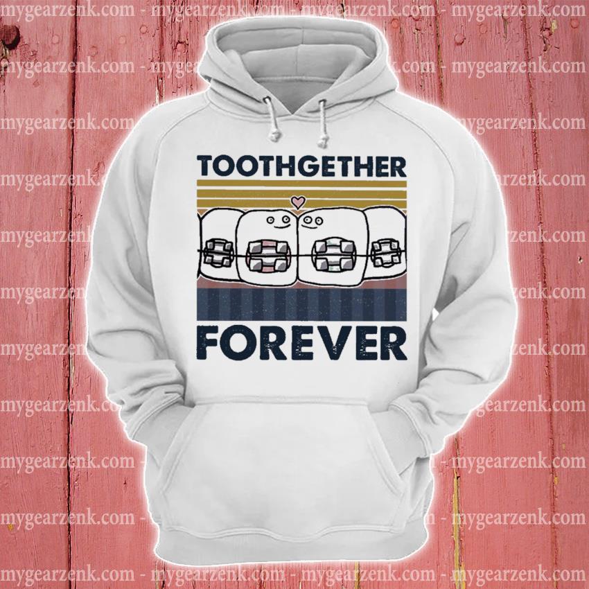 Official together forever vintage s hoodie