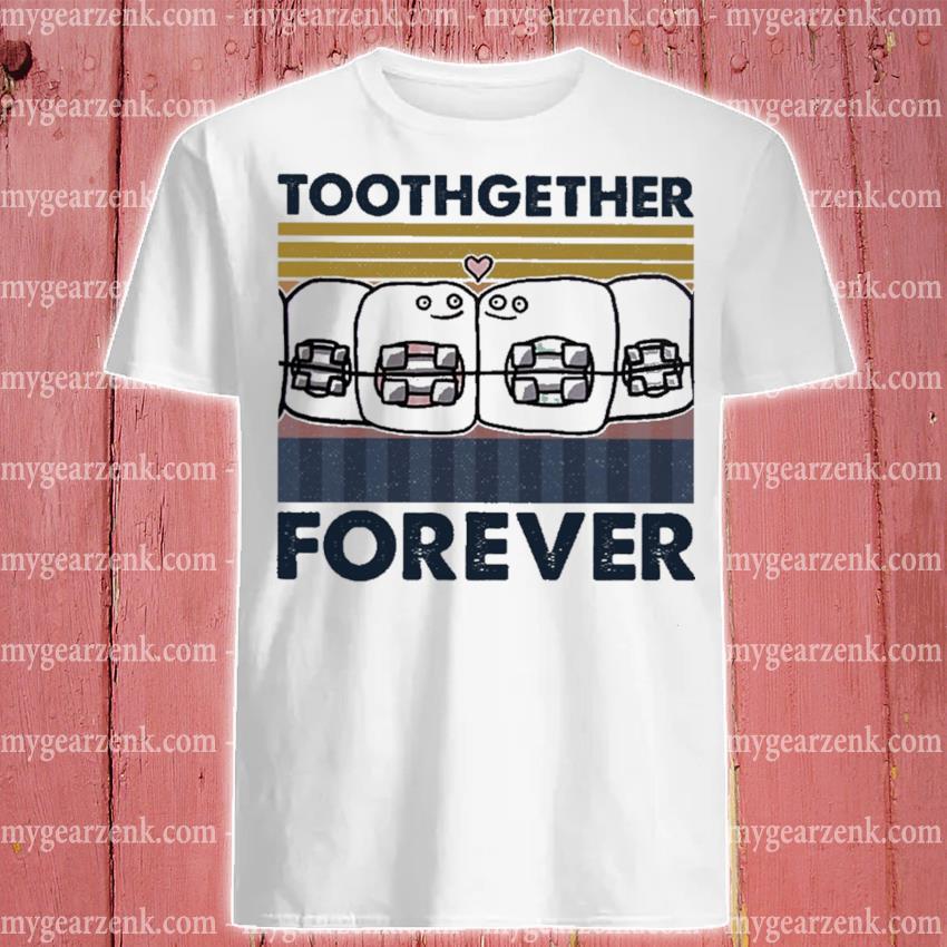 Official together forever vintage shirt