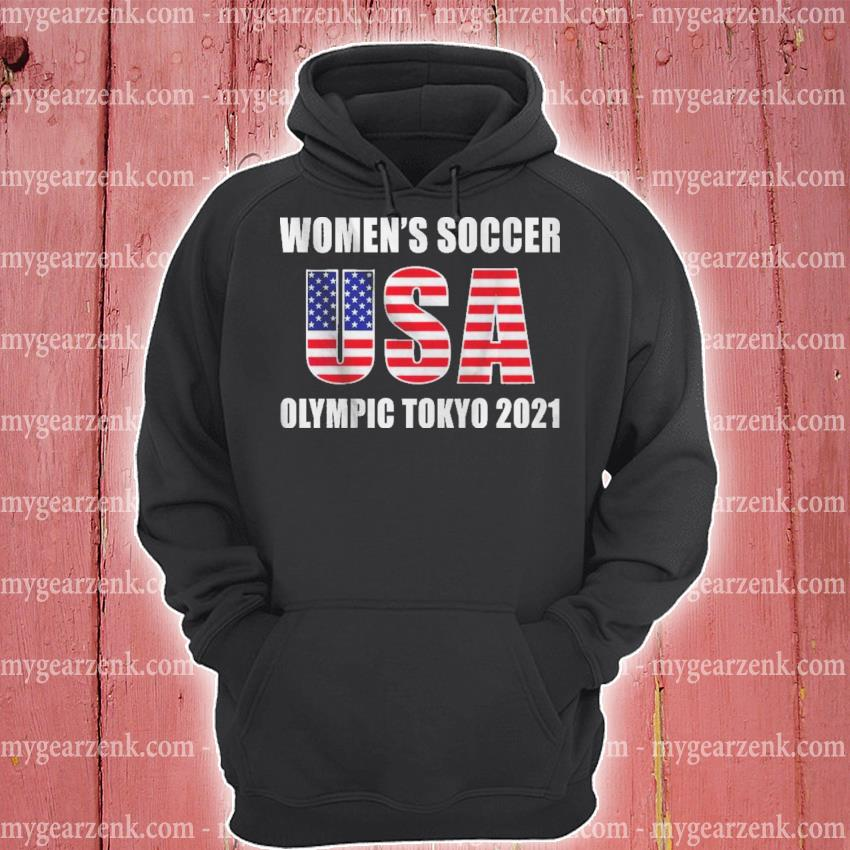 Official women's soccer usa olympic tokyo 2021 s hoodie