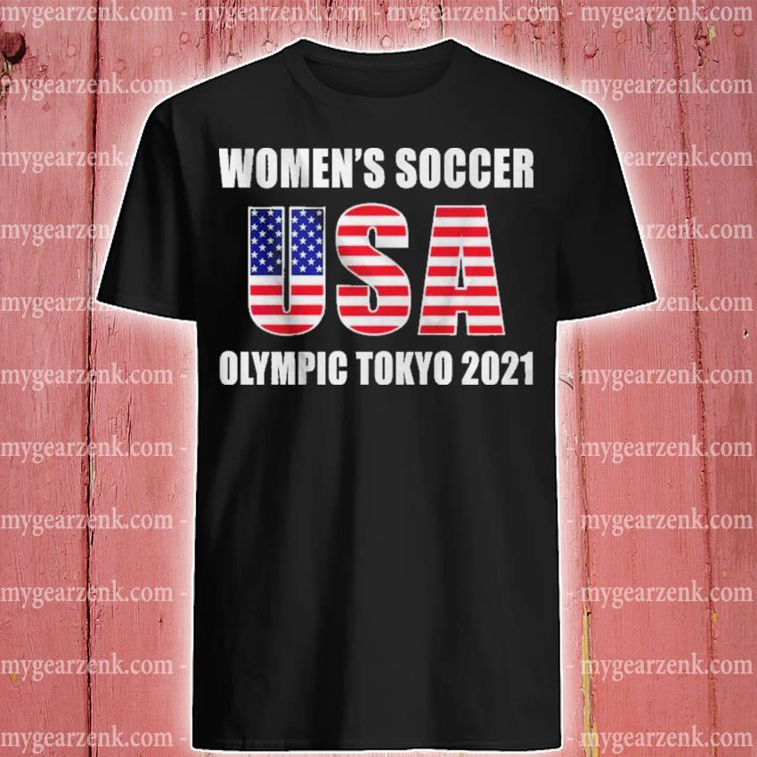 Official women's soccer usa olympic tokyo 2021 shirt