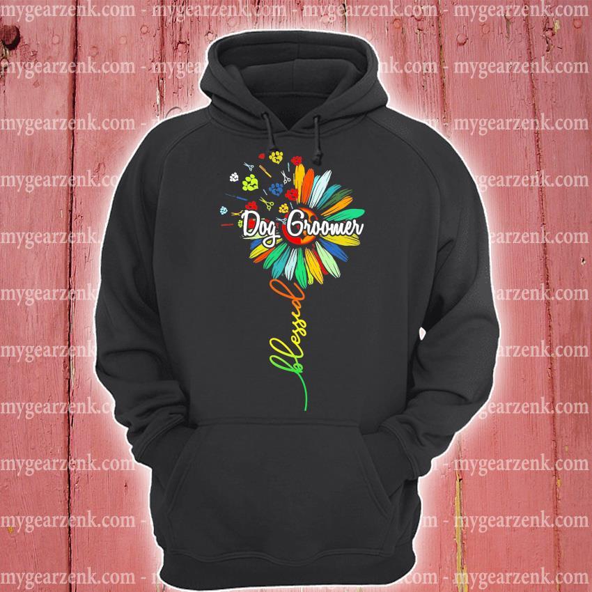 Blessed Dog Groomer Shirt hoodie