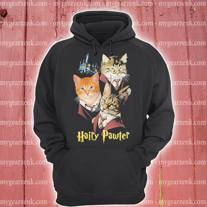 Cats hairy pawter s hoodie