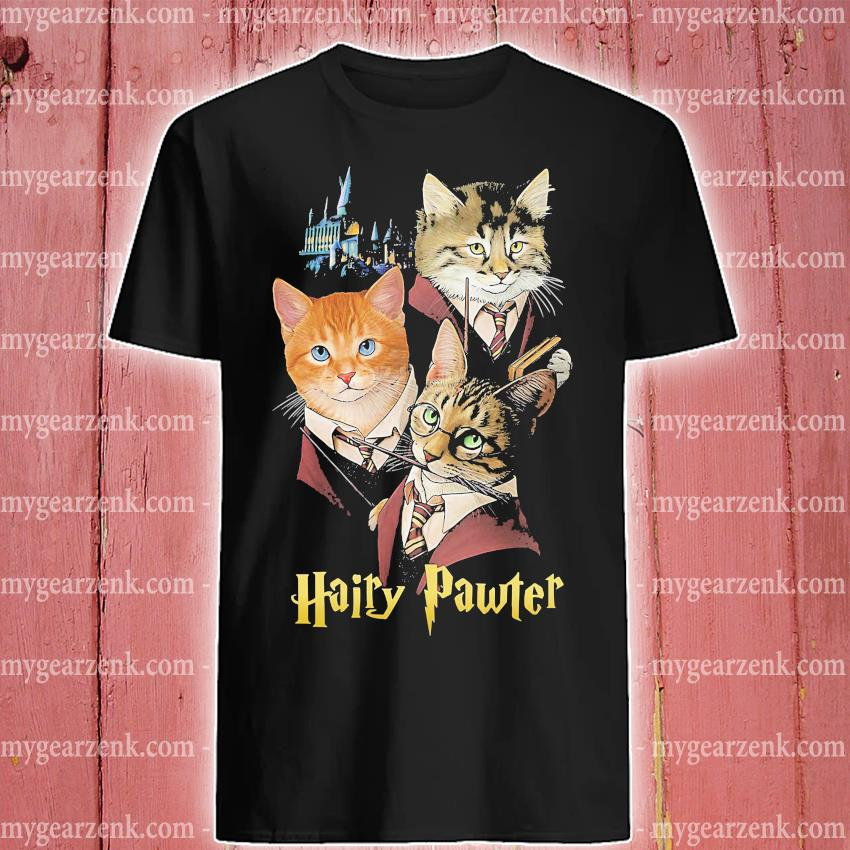 Cats hairy pawter shirt
