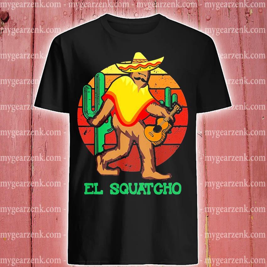 El Squatcho 2 sunset shirt