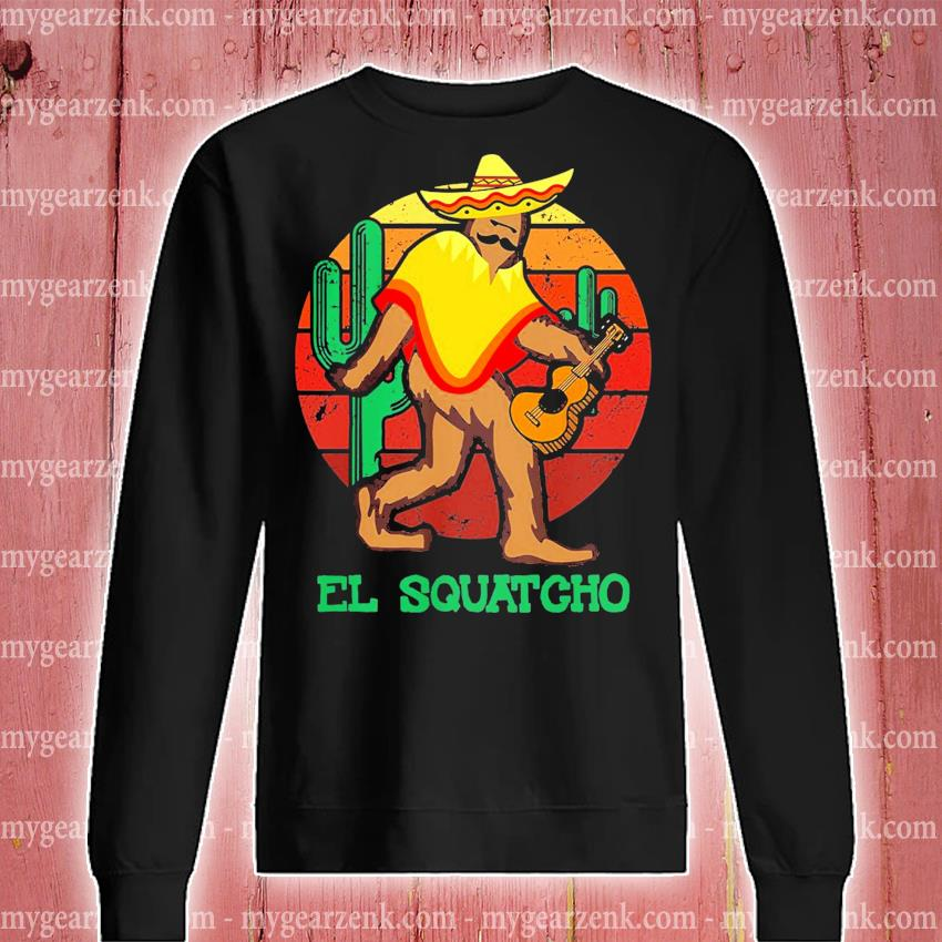 El Squatcho 2 sunset s sweatshirt