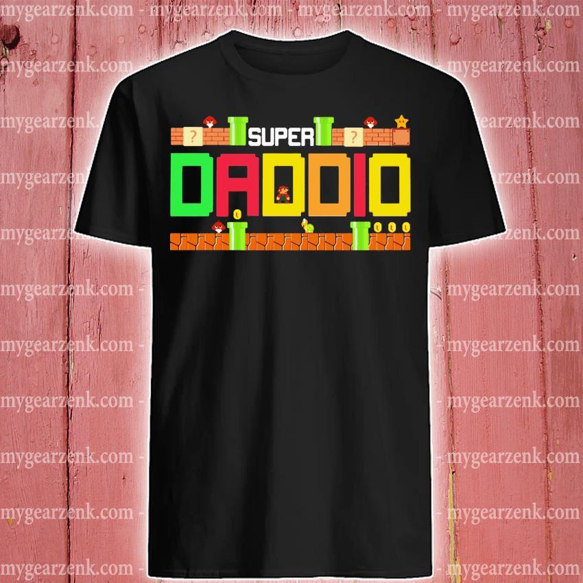 Mario Family Super Dadio Shirt