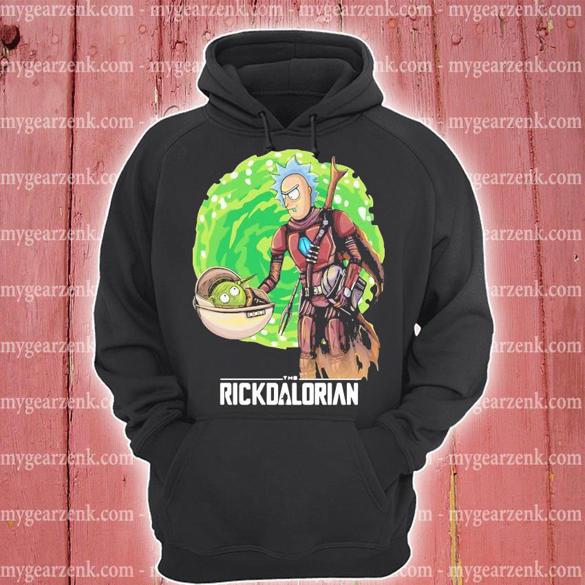 Rick And Morty The Rickdalorian Shirt hoodie