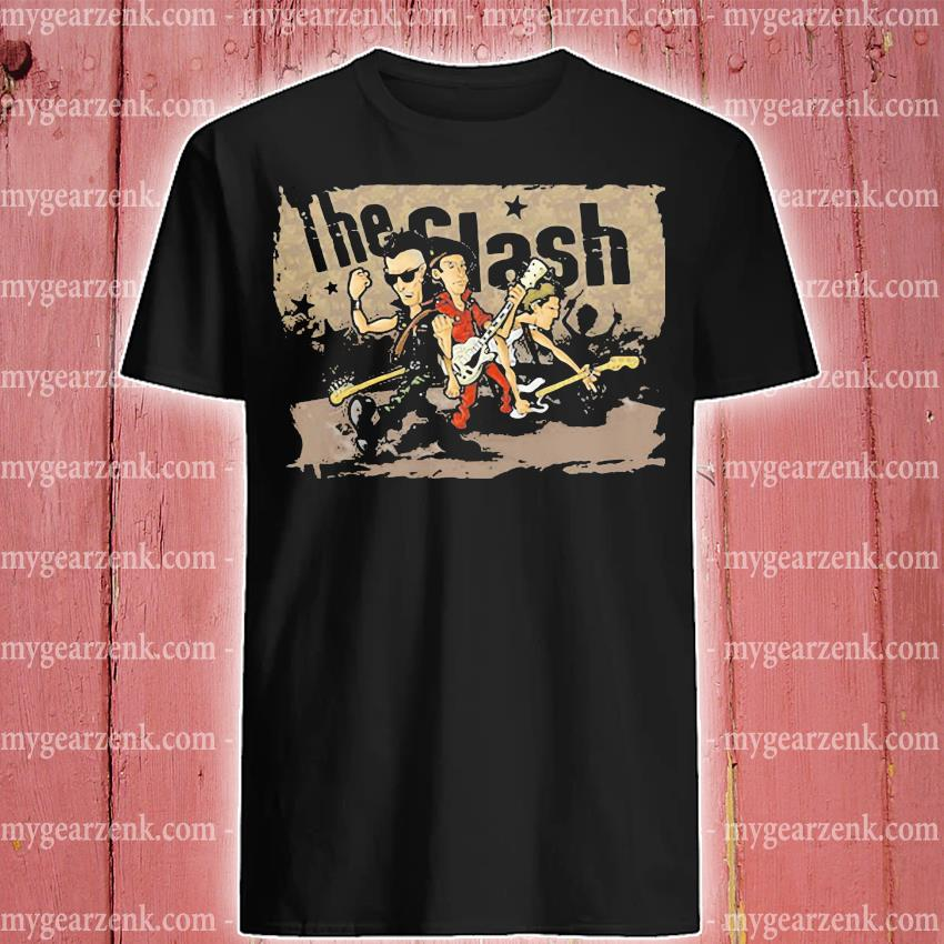 The Clash Band Cartoon shirt
