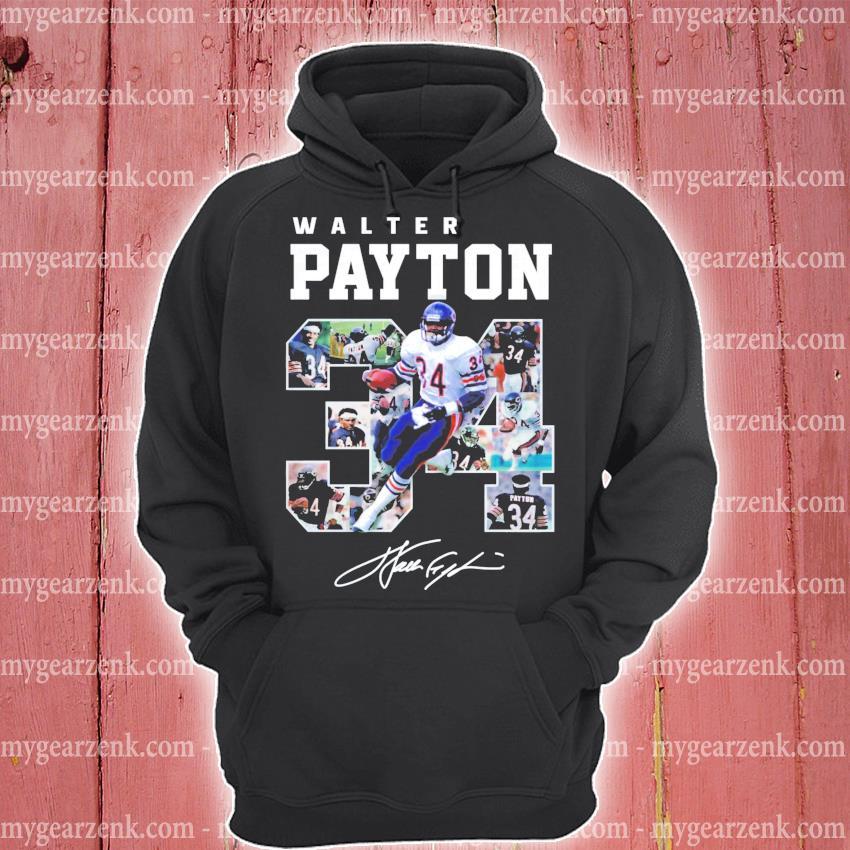 Walter payton 34 signature s hoodie