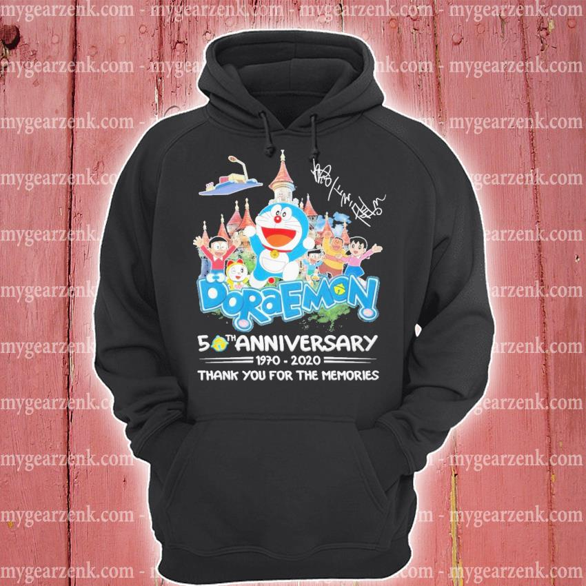 Doraemon 50th anniversary 1970 2020 thank you for the memories s hoodie