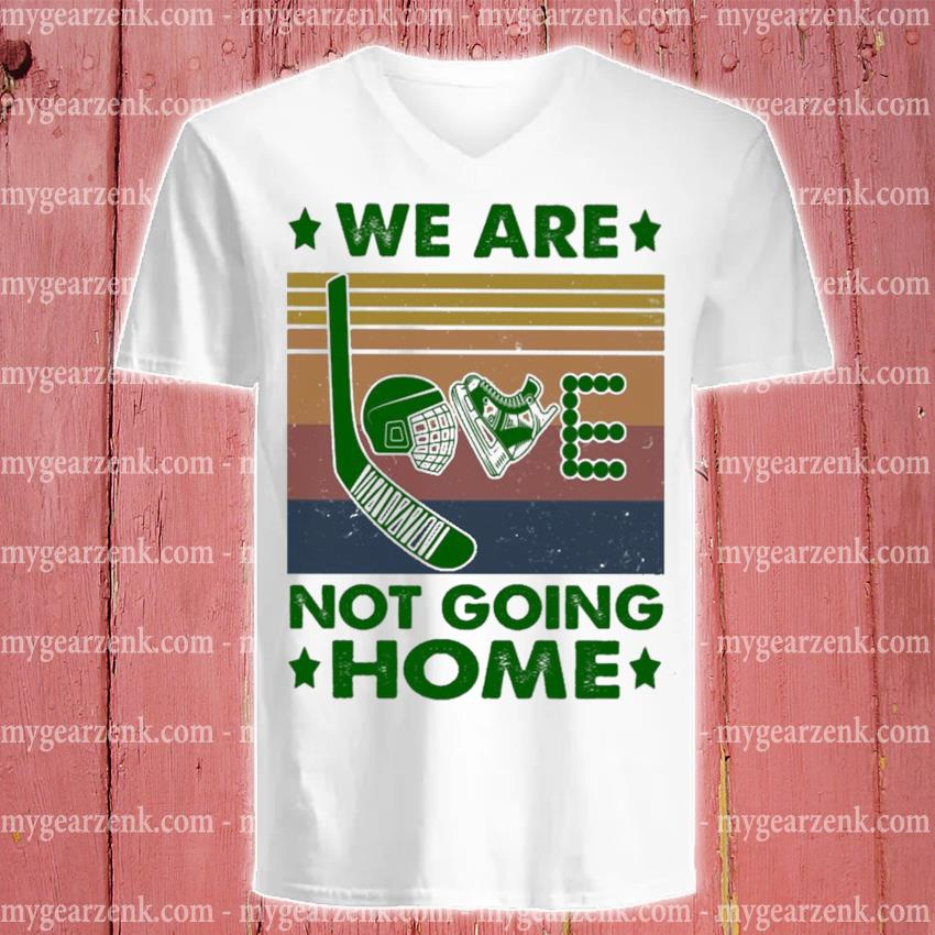 We are Love not going home vintage s v-neck-tee