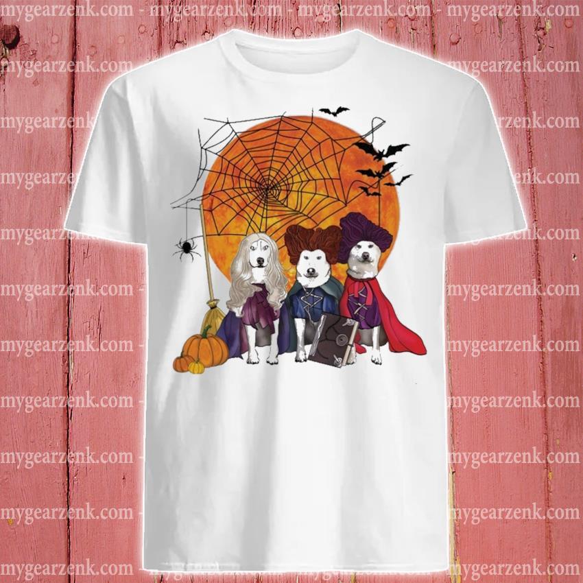 Dogs Hocus Pocus Halloween shirt