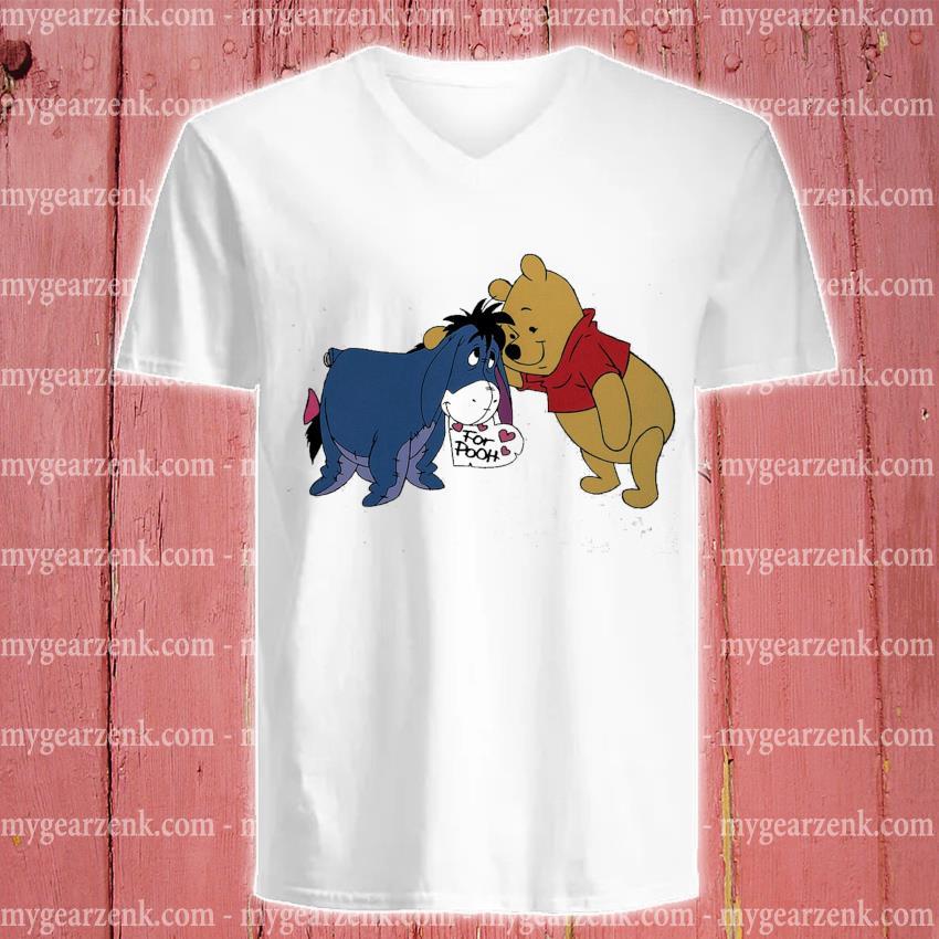 Eeyore from Pooh s v-neck-tee
