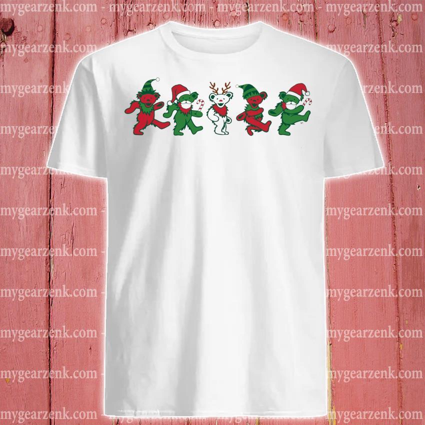 Grateful Dead Dancing Bears Christmas 2020 shirt