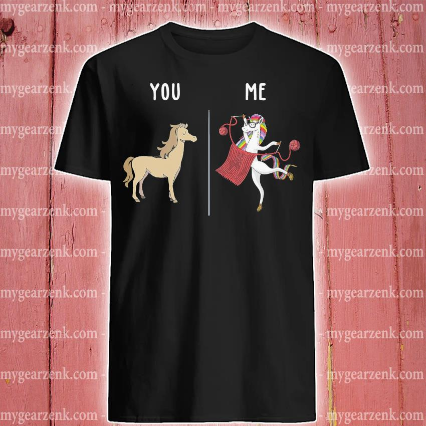 Horse and Unicorn you and me shirt