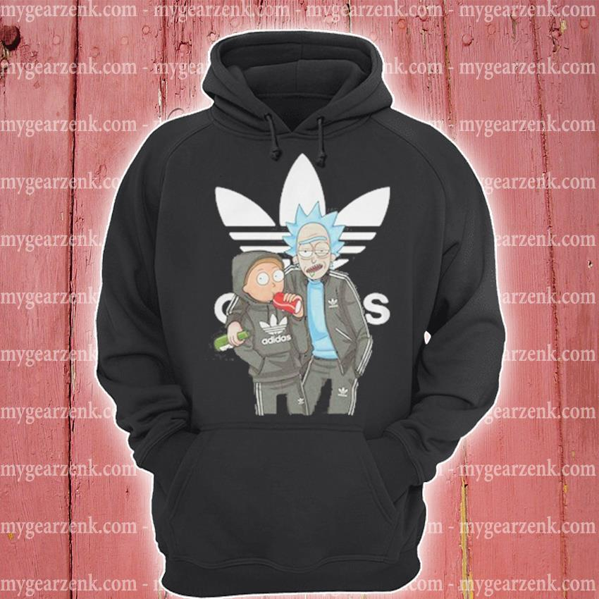 Official Rick and Morty Adidas s hoodie