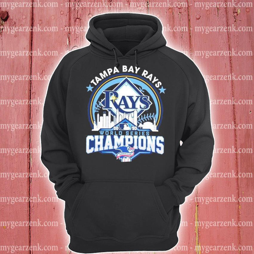 Tampa Bay Rays world series Champions s hoodie