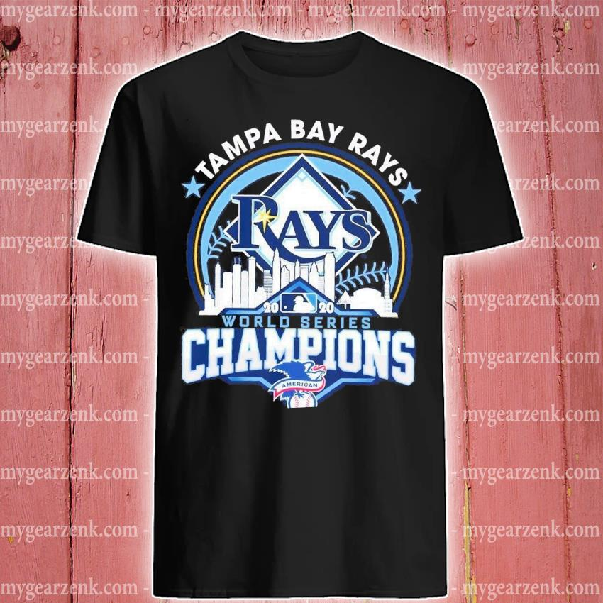 Tampa Bay Rays world series Champions shirt