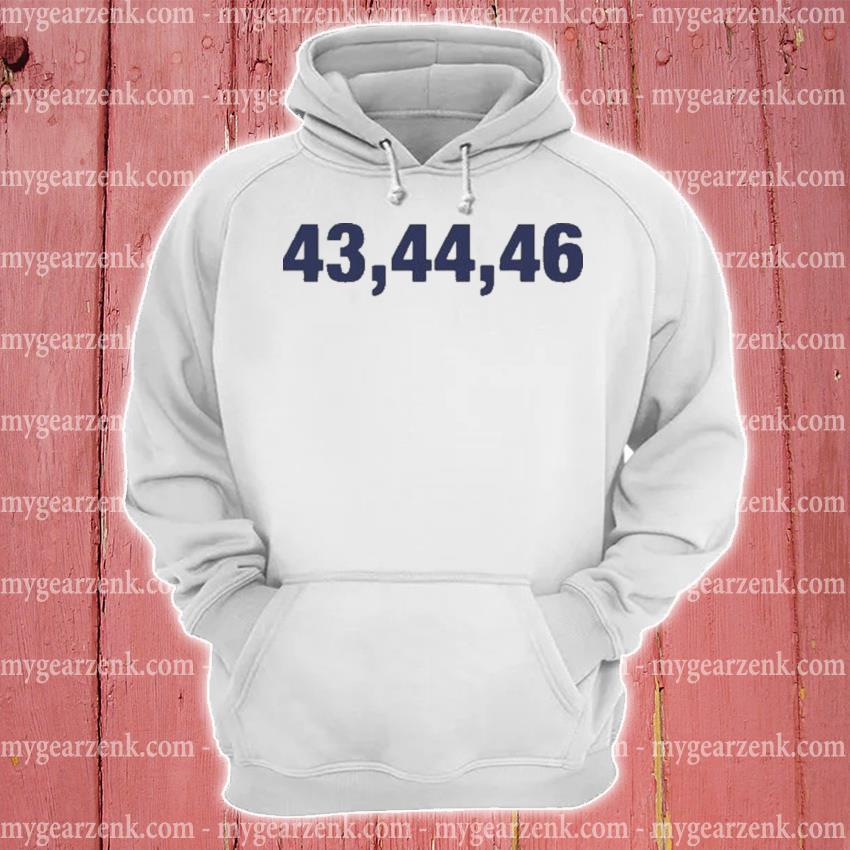 '43,44,46' s hoodie