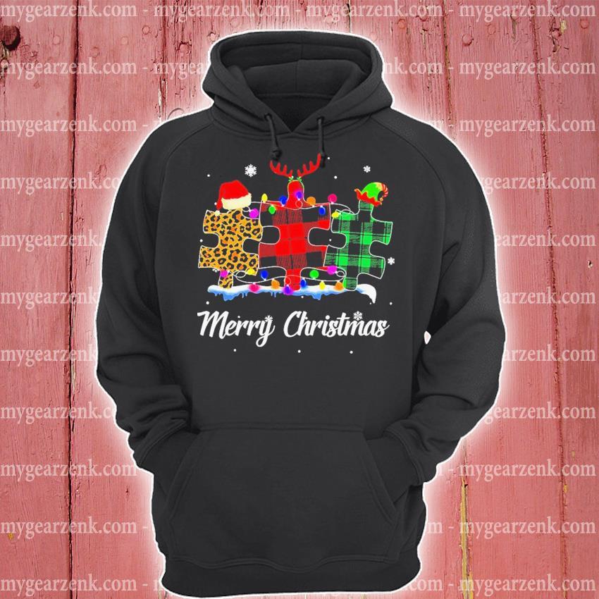 Autism Santa Happy Merry Christmas 2020 s hoodie