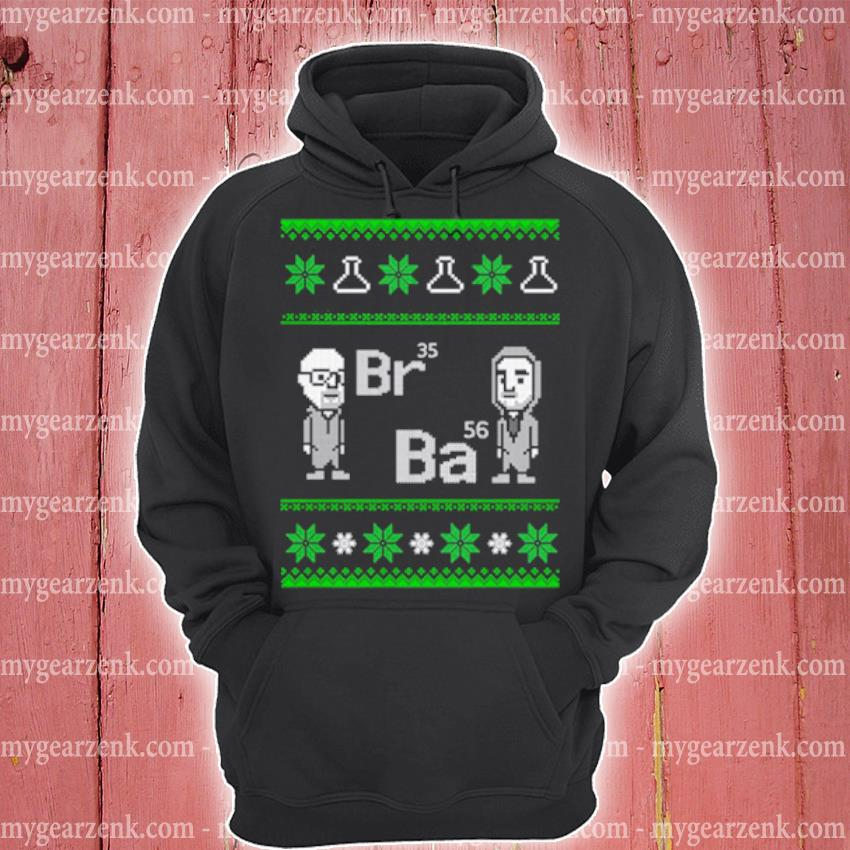 Breaking Bad Br35 Ba56 Ugly Christmas sweater hoodie