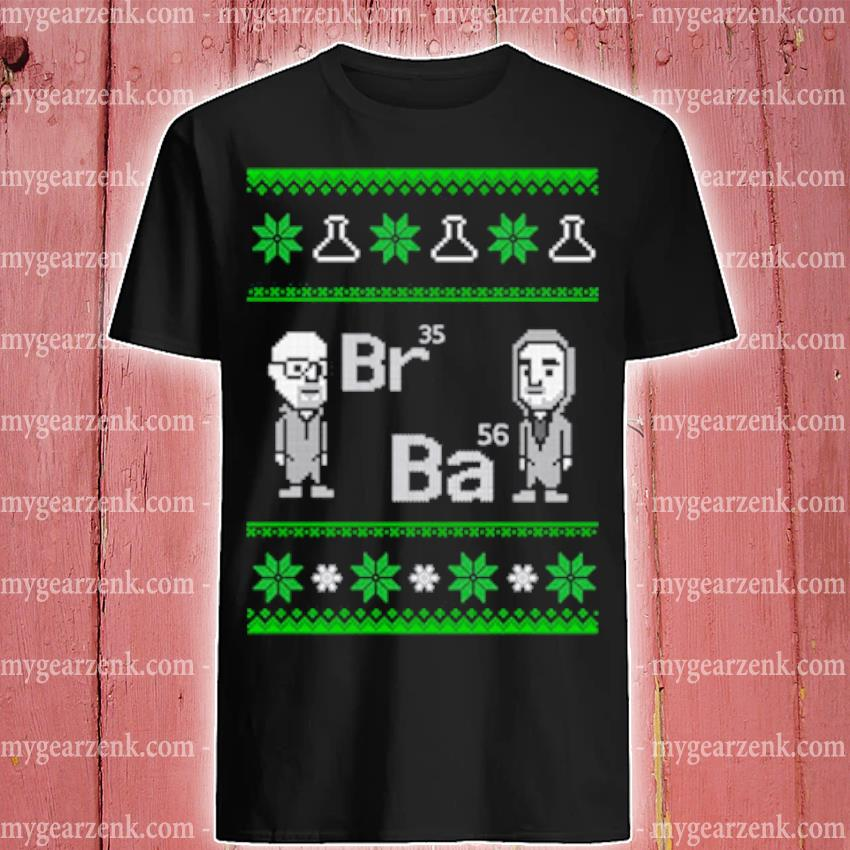 Breaking Bad Br35 Ba56 Ugly Christmas sweater