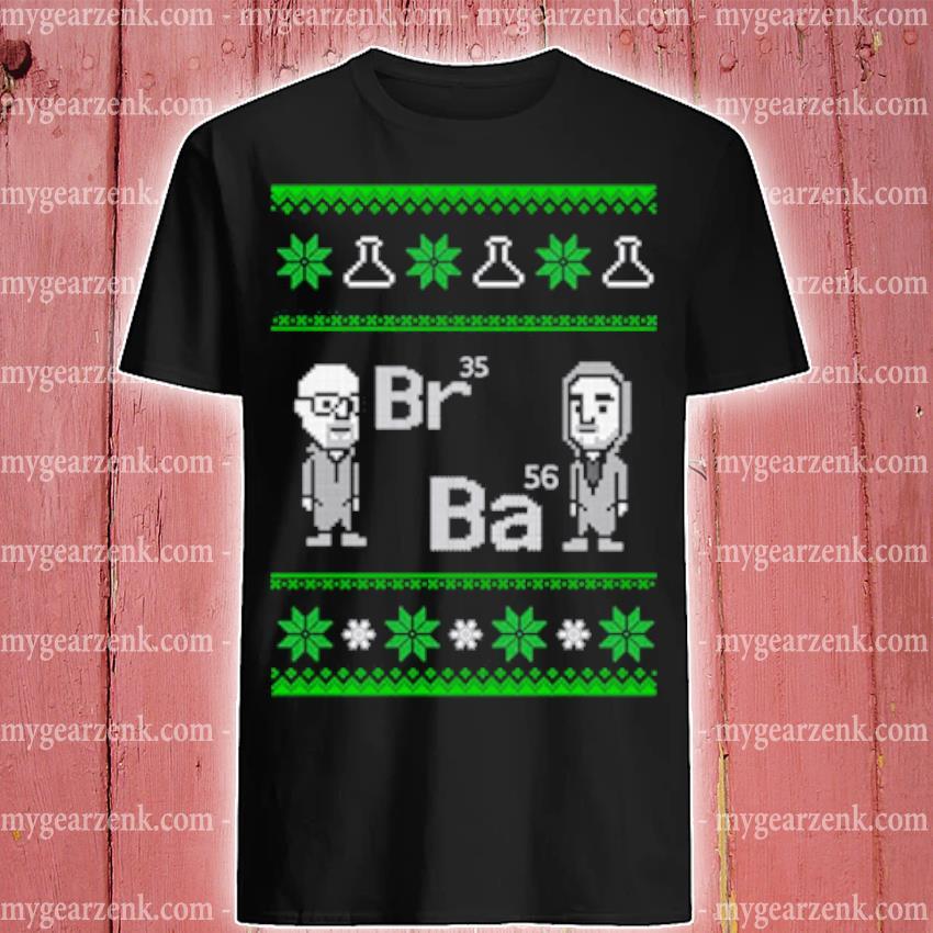 Breaking Bad Br35 Ba56 Ugly Christmas sweater