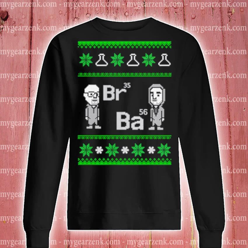 Breaking Bad Br35 Ba56 Ugly Christmas sweater sweatshirt
