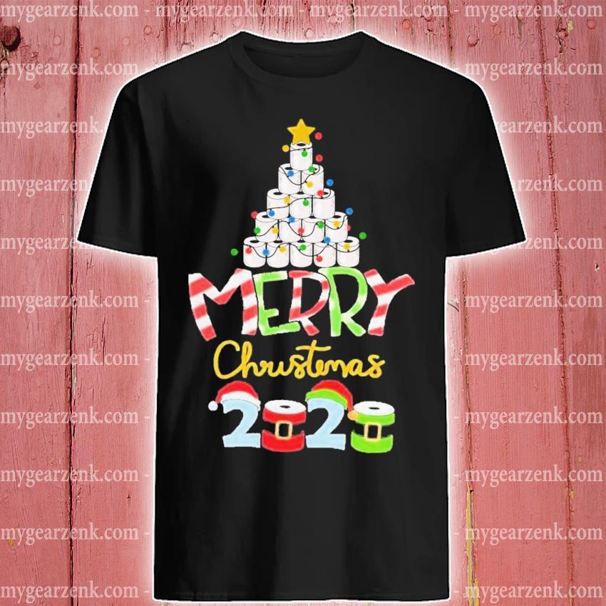 Christmas 2020 quarantine toilet paper family pajama shirt