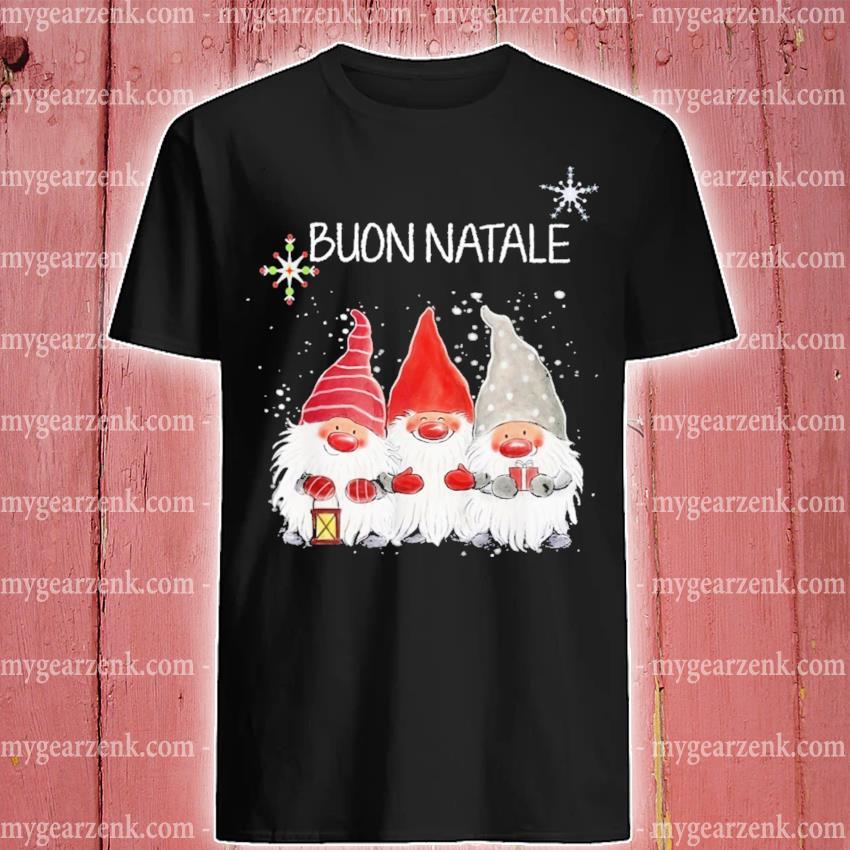 Gnomes Buon Natale merry Christmas 2020 shirt